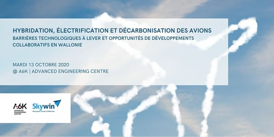 Skywin - A6K | Seminaire technologique aviation - hybridation, électrification & decarbonisation